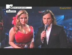 Anna Semenovich - MTV EMA 2010 - Russian Pre-party 7 nov 2010