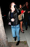 Elizabeth Reaser- Leaving Jerry's Deli in West Hollywood 12/13/08- 8 HQ