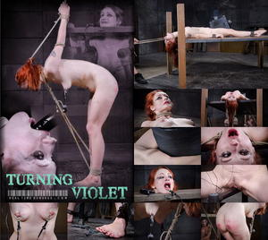 REAL TIME BONDAGE: Nov 14, 2015: Turning Violet Part 3 | Violet Monroe | Freya French