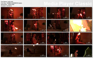 HOUSE OF TABOO: Flaming Hot Pussy: Sexy Pyromaniac Plays With Fire