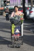 София Буш, фото 4215. Sophia Bush - tight pants and cleavage at Whole Foods in Hollywood 02/28/12, foto 4215
