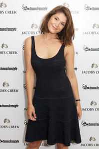 Gemma Arterton Wimbledon Championships Day 6 in London 06-28-2014 (a bit grainy)