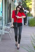 Эшли Грин, фото 4686. Ashley Greene - in jeans at a waxing salon in North Hollywood 02/02/12, foto 4686