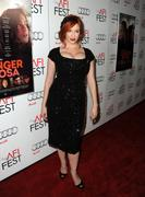 christina hendricks huge boobs cleavage
