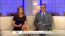 Natalie Morales-Today Show 8/12 Couch + Interview